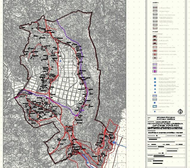 Obavijest o izradi Izmjena i dopuna Prostornog plana uređenja Općine Kršan