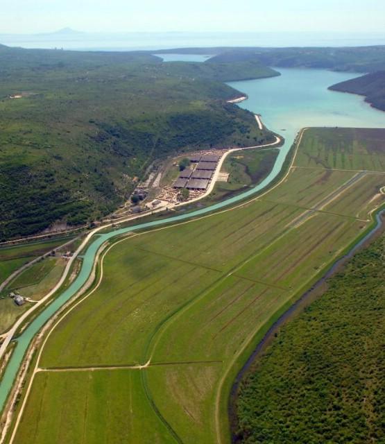 Rijetko viđeni pogled na dolinu rijeke Raše