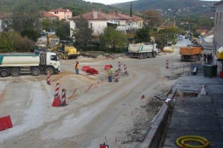 Uskoro gotov kružni tok u Ulici Alda Negria