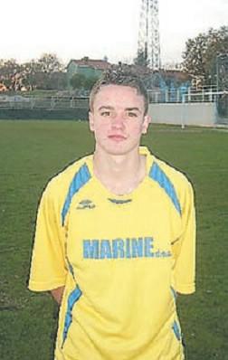 Luka Ružić, 14-godišnji nogometaš iz Nedešćine samo u jesenjskom  dijelu zabio 34 pogotka