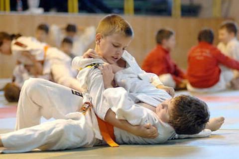 Judo prvenstvo Istre - 2009: Dino Kostadina i Vanja Licul prvi