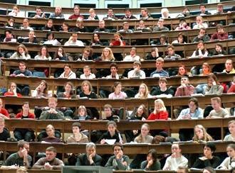 Web stranica o upisima na fakultete