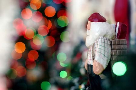 Nošen snijegom Djed Božićnjak stigao u Labin