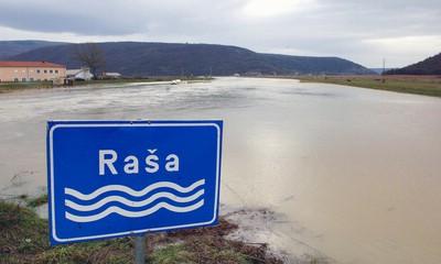Pripreme za obranu od poplave, nabujale Raša i Boljunčica