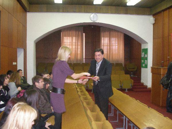 Prijem za nagrađene stipendiste s područja Grada Labina