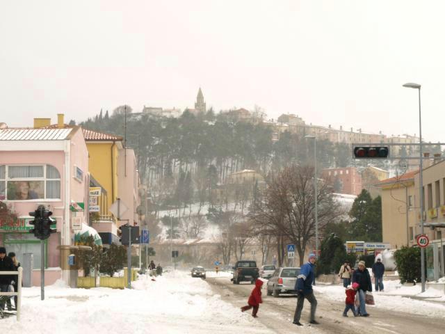Nakon kiše u Istri ponovo snijeg?!