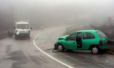 Salakovci kraj Labina: Teško ozlijeđen vozač opel corse