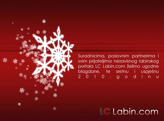 LC Labin.com tim: Hvala vam i sretno u 2010 !
