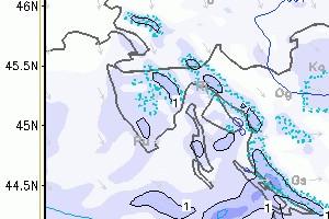 Sutra ponovo snijeg u Istri