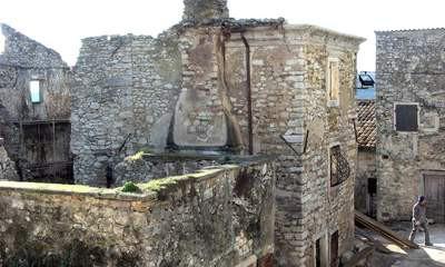 Pićan: počelo preuređenje Baronove palače