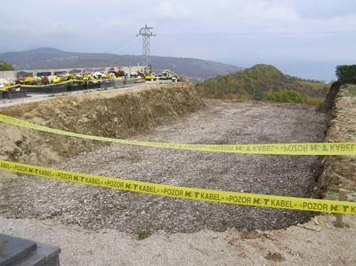 Radovi na proširenju gradskog groblja u Labinu gotovi do kraja veljače