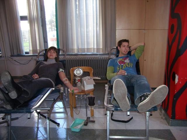Nastavlja se trend dobrog odaziva dobrovoljnim akcijama darivanja krvi - na prvoj ovogodišnjoj 91 darivatelj