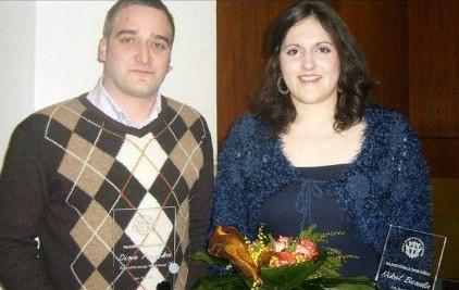 Proglašeni najbolji sportaši Grada Labina u 2009. godini:  Laureati Dino Peruško, Nikol Boneta, NK Rudar