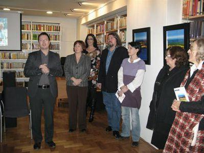 U Zagrebu otvorena izložba radova labinskog slikara Vinka Šaina
