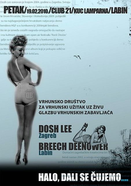 Dosh Lee & Breech Deenower @ Club 21, KuC Lamparna