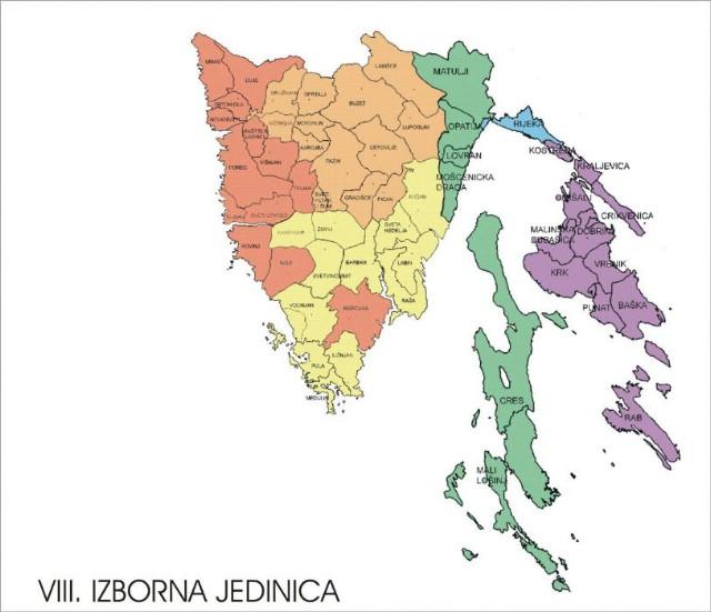 8. izborna jedinica: SDP premoćno, HDZ zadovoljan (izjave političara)