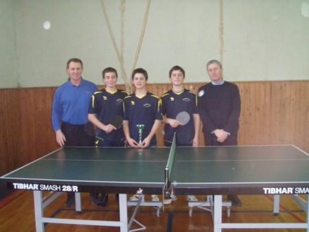 Uspješni labinski učenici na prvenstvu IŽ u stolonom tenisu i Lidranu
