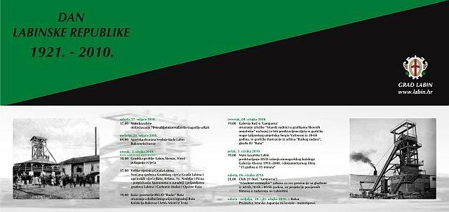 Program obilježavanja Dana Labinske republike