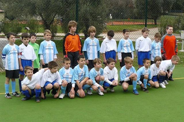 Prijateljska utakmica  nogometnih škola:  NK Rabac-NK Lošinj 2:5