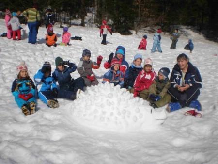 Labinski se mališani vratili sa zimovanja
