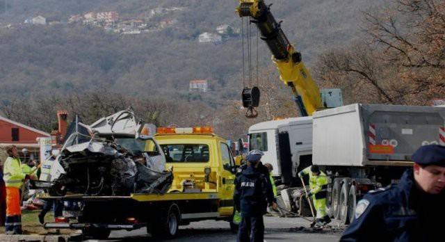 Vozač tegljača  iz Kršana (28) lakše ozlijeđen u policijskoj potjeri za počiniteljem kaznenog djela
