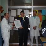 """Crveni križ Labin donirao gotovo 19 tisuća kuna Odjelu predijatrije Opće bolnice Pula kao doprinos akciji """"Za osmijeh djeteta u pulskoj bolnici"""""""